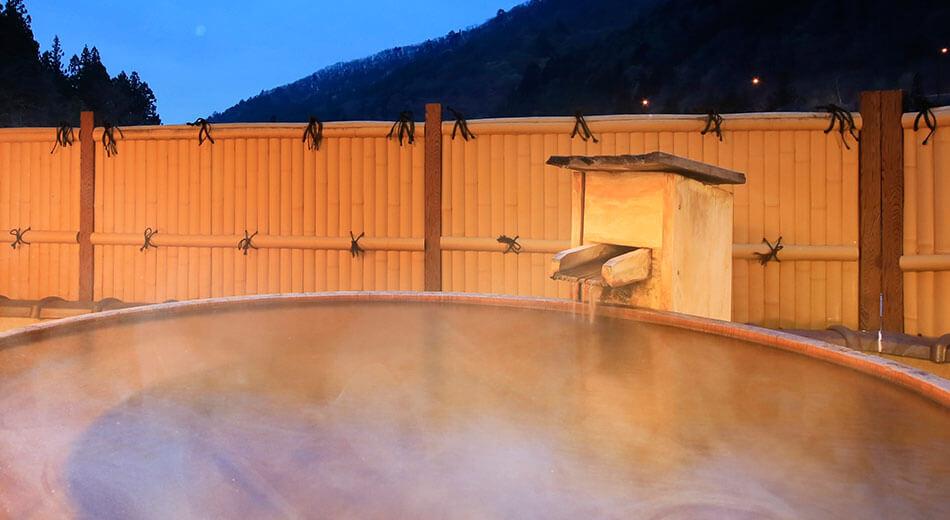 四万温泉の湯すべてがここにある天然温泉